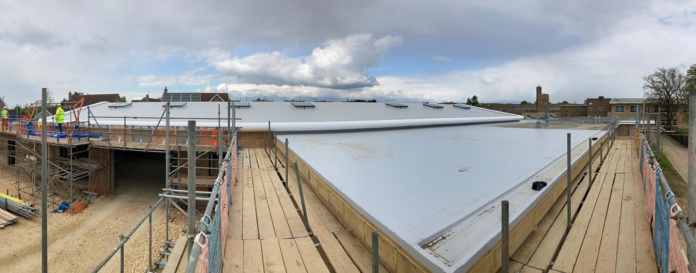 Arthur Mellows Roof - After