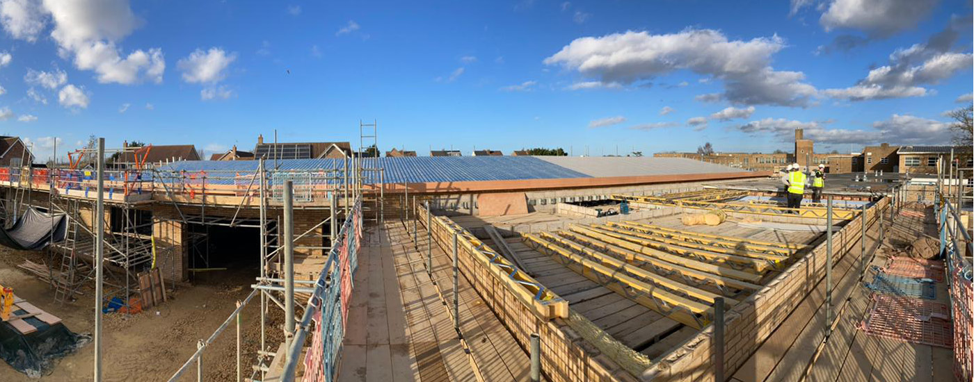 Arthur Mellows Roof - Before