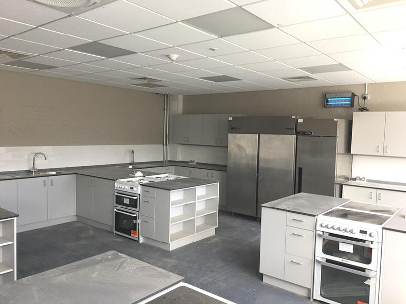 Swavesey College - Kitchen