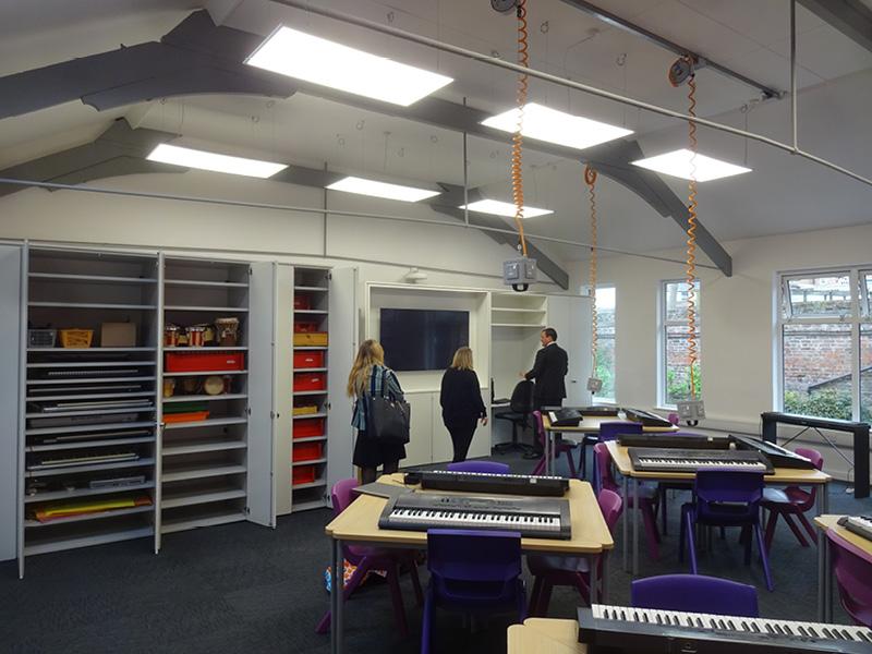 Wisbech Grammar School - Music Room
